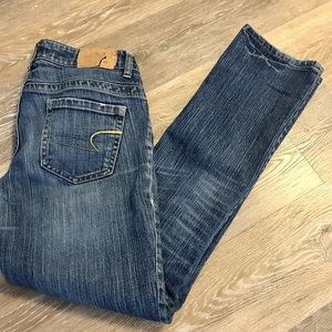 American eagle straight 77 women's denim jeans